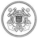 Coast Guard logo for individual grave markers