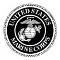 Marines logo for individual grave markers